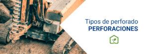 Perforaciones y tipos de perforado